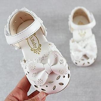 Summer Fashion Leathers Sweet Sandals For, Baby Breathable Hoolow Out Bow Shoes