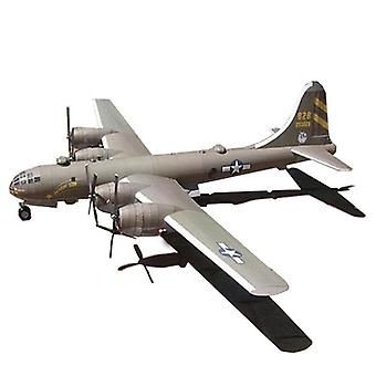 B-29 Super Fortress Handmade Paper Toy Airplane For Decoration Craft