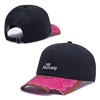 Munchies Snacks Snapback Hat, Men & Women Hip Hop Headwear Outdoor Baseball Cap