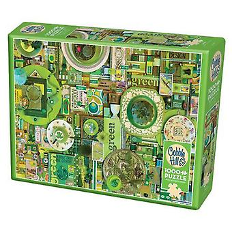 Cobble hill puzzle - green - 1000 pc (modular)