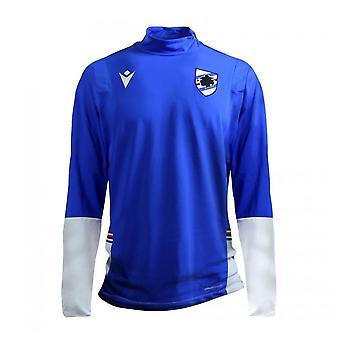 2020-2021 سامبدوريا ربع الرمز البريدي التدريب الأعلى (الأزرق)