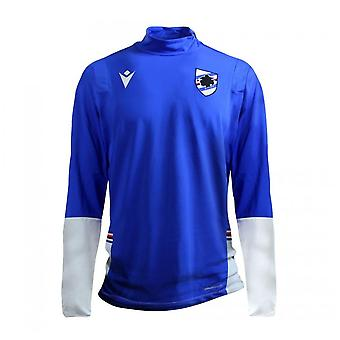 2020-2021 Sampdoria Quarter Zip Training Top (Azul)