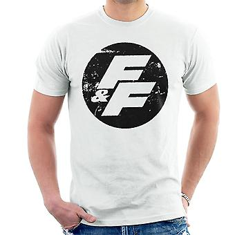 Fast and Furious FF Vintage Logo Men-apos;s T-Shirt