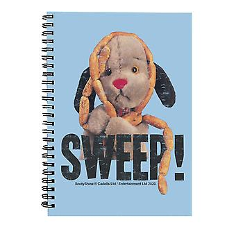 Sooty Sweep Sausages Spiral Notebook