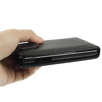 Vertical Flip Holster for LG Optimus L5 (Black)