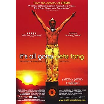 Ihre All Gone Pete Tong Movie Poster (11 x 17)