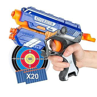 New Manual Soft Bullet Gun Suit For Nerf- Bullets Toy