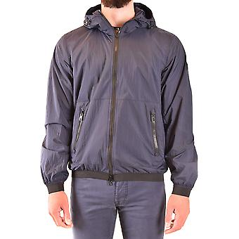 Woolrich Ezbc033059 Men's Blue Nylon Outerwear Jacket