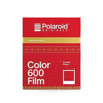 Polaroid-alkuperäiskappaleet - 4931 - värikalvo 600: lle - juhlava punainen painos