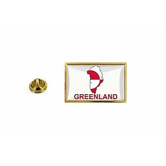 pine pine badge pine pin-apos;s land vlag kaart KN Groenland