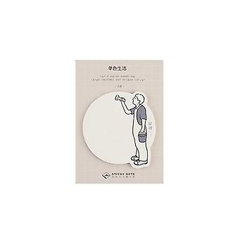 Pleasant Holiday Sticky Note Book Memo Pad