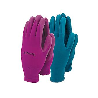 Town & Country Ladies Sure Grip Glove Twin Pack TGL507