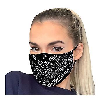 Pestävä naamio, painettu Windbreak Saumaton ulkoratsastus Pikakuivaus Pidä maski