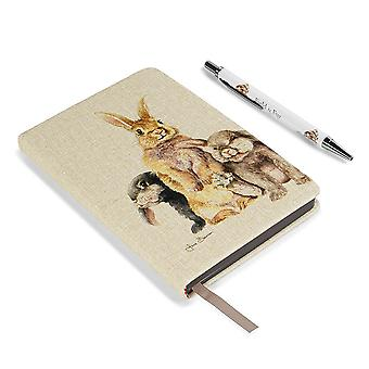 Jane Bannon Field And Fur Notebook Set