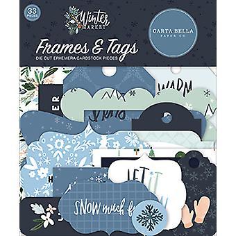 Carta Bella Winter Market Frames & Tags