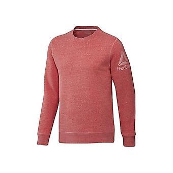 Reebok Prime Group Crew BK5037 uniwersalne przez cały rok męskie bluzy