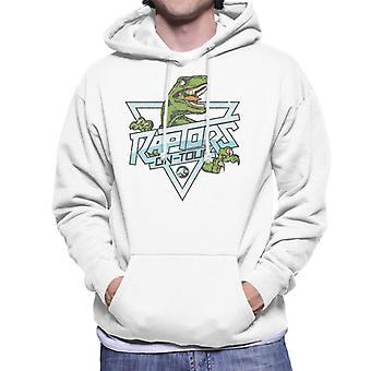 Jurassic Park Raptors auf Tour Rock Text Männer's Kapuzen Sweatshirt