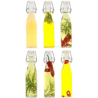 Clip Top Preserve Bottles - Set of 6 | M&W 500ml