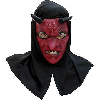Dress Mask With Hood Evil Devil Unisex