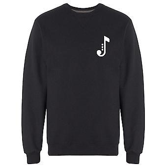 Logo Jazz Music Note Sweatshirt Men's -Bild von Shutterstock