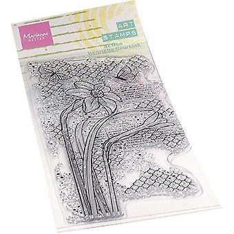 ماريان تصميم واضح الطوابع الفن الطوابع - النرجس mm1641 75x185mm