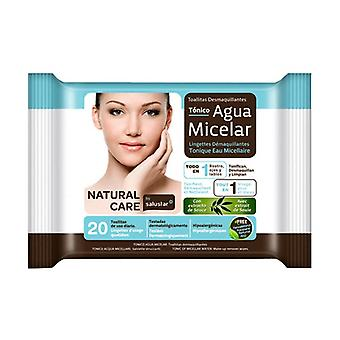 Micellar Water make-up remover wipes 20 units