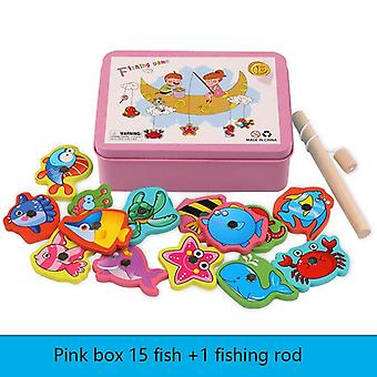 Marine Biological Baby Educational Fishing Game Set
