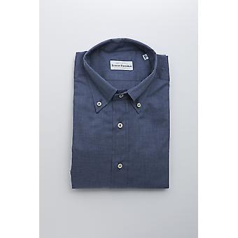 Robert Friedman mäns blå skjorta