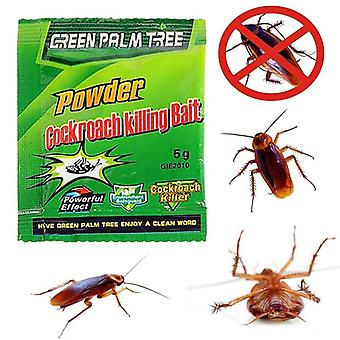 5pcs Cockroach Insect Eradication Powder Household Luye Cockroach-killing Bait