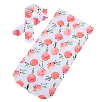 Pături pentru copii Imprimate Nou-născut Dormit Swaddle Wrap +headband