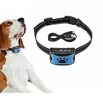 Usb Electric Ultrasonic Dogs Training Collar Stop Barking Vibration Anti Bark