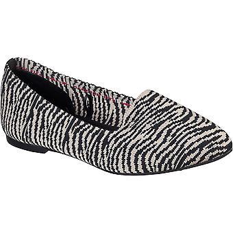 Skechers Womens Cleo Knitty Kit Slip Op Schoenen