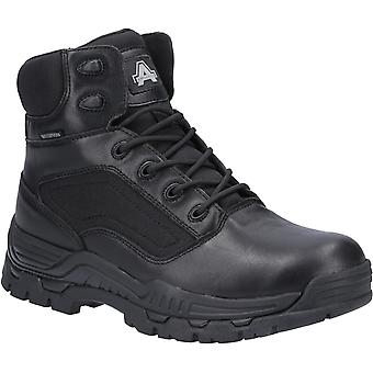 Amblers unisex misión impermeable occupational boot negro 31343