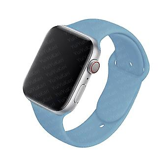 Silicone Strap For Apple Watch Band - Rubber Sport Wristband Bracelet