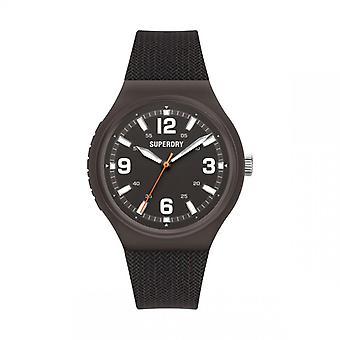 Herreur Superdry SYG345B - Sort silikone armbånd