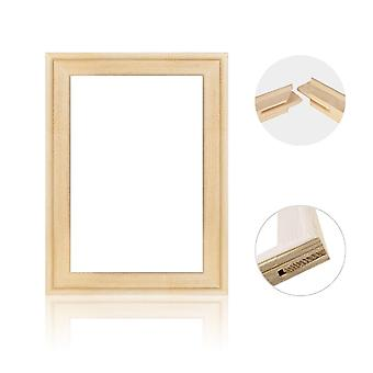 Diy Solid Wooden Picture Frame Canvas Bars Stretcher Kit