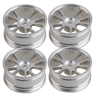 4 PCS Aluminum Alloy On-Road Racing Car Wheel Rims RC 1:10 Wheel Flange