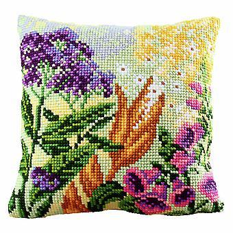 Collection d'Art Cross Stitch Kit: Cushion: Lupin Dream 1