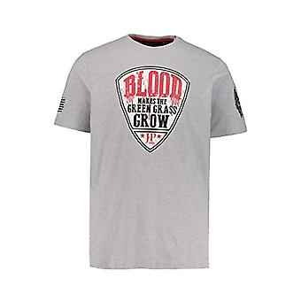 JP 1880 T-Shirt 1/2 Blood Football, Anthrazit, XL Men's