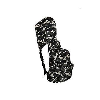 MorikukkoMorikukko Hooded Backpack Kool Camouflage BlackUnisex - AdultZainiMulticolore (Camouflage Black)33x8x40 Centimeters (W Ref. 8682328760716