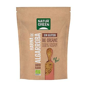 Gluten-free bio carob flour 500 g of powder