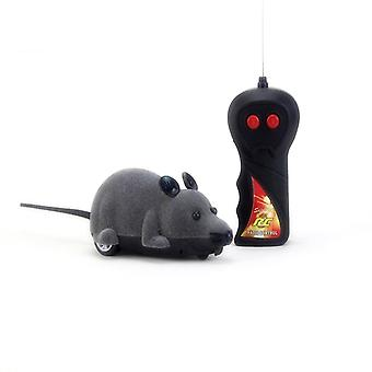 Wireless Remote Control RC Electronic Rat Mouse Mice Toy For Cat Puppy Funny Toy|RC Robots & Animals