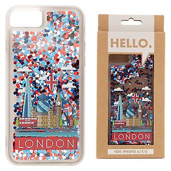 London Icons Design iPhone 6/7/8 Handytasche