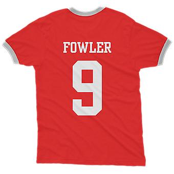 Robbie fowler 9 england country ringer t-shirt