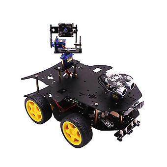 4-דור 4b/3b + 4wd ai וידאו לתכנות רובוט מכונית rc ערכת רכב עם מצלמת WiFi