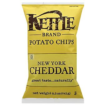 Kettle Foods Chip Pto Ny Chdr Herb, Case of 12 X 8.5 Oz