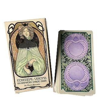 new 80pcs v tarot cards oracle guidance divination fate deck board games sm37888