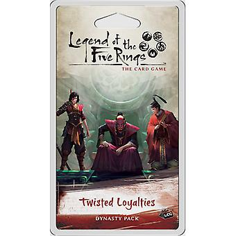 Legend of the Five Rings LCG: Twisted Loyalties Dynasty Pack