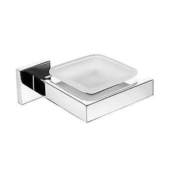 Kromi kiillotetut ruostumattomat tarvikkeet Saippua-astian wc-harjateline| Kylpylaitteistot(hopea)