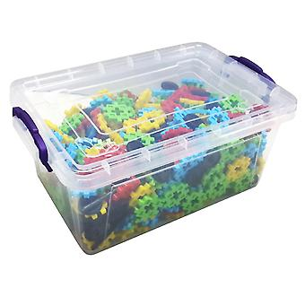 Matrax Crazy Creative Blocks, 500 Pieces, In Plastic Box, Educational, For Children Ages 3 and Up, Suitable For Child Health